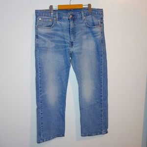 LEVIS 569 Loose Stright Fit Mens Jeans 38 x 30